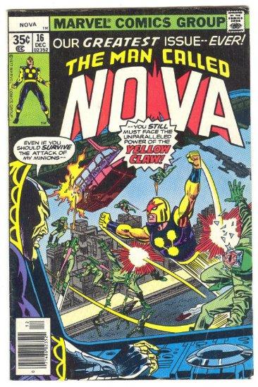 Nova #16 Greatest Issue Ever! 1977