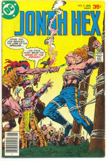 Jonah Hex #8 Mark Of The Demon Origin Issue 1978 HTF