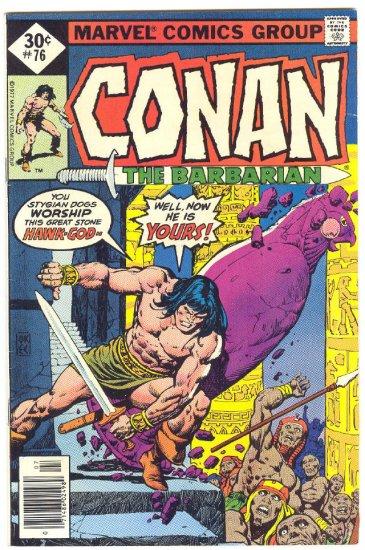 Conan The Barbarian #76 Helpless In The Hawk City