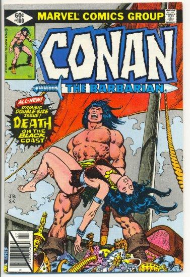 Conan The Barbarian #100 Death On The Black Coast Key Issue