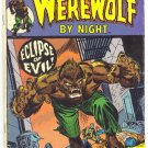 Werewolf By Night #25 Eclipse Of Evil w/ The Hangman 1975