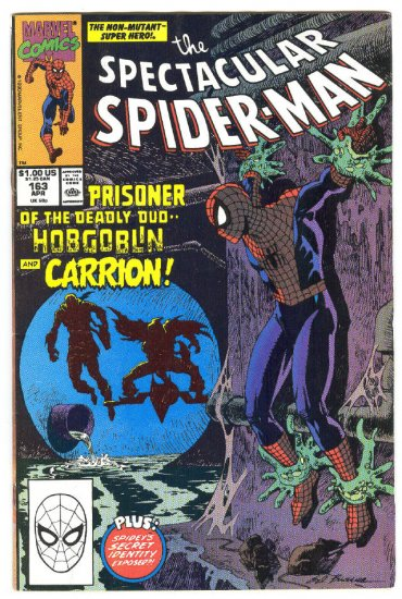 Spectacular Spider-Man #163 Prisoner Of The Hobgoblin