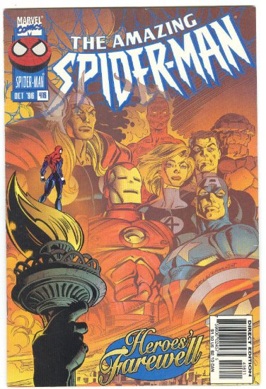 Amazing Spider-Man #416 Heroes' Farewell 1996