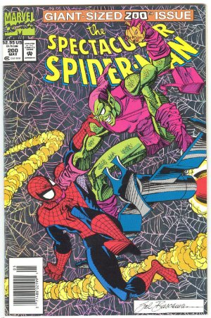 Spectacular Spider-Man #200 Showdown With The Green Goblin