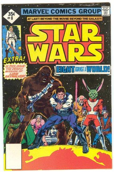 Star Wars #8 Eight Against A World 1977 Whitman Variant