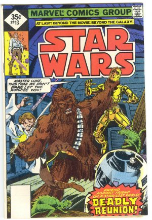 Star Wars #13 Deadly Reunion 1978 Whitman Variant