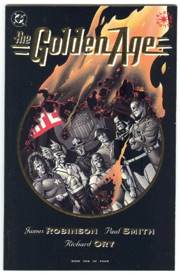 The Golden Age #1 DC Elseworlds Series P Smith Art 1993