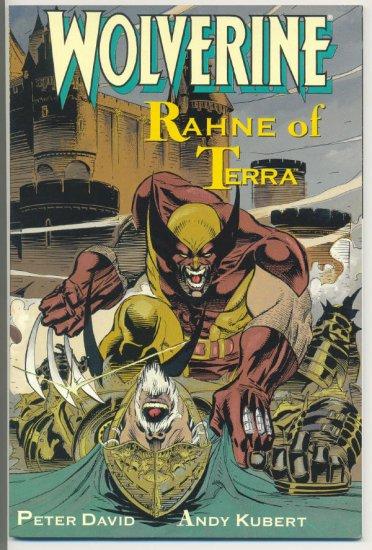 Wolverine Rahne Of Terra Graphic Novel 1991 Kubert Art