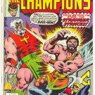 The Champions #12 The Stranger Strikes Byrne Art
