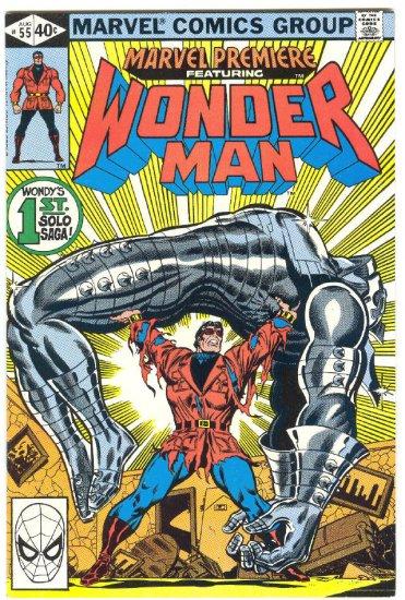 Marvel Premiere #55 Wonder Man Solo Adventure 1980