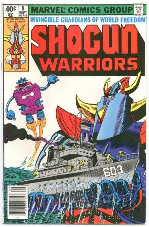 Shogun Warriors #8 Cerberus And Skyfall Trimpe Art