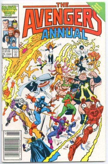 Avengers Annual #15 vs Freedom Force 1986