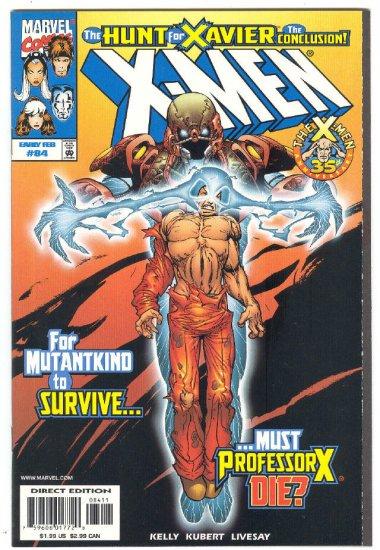 X-Men #84 Hunt For Xavier Conclusion 1999