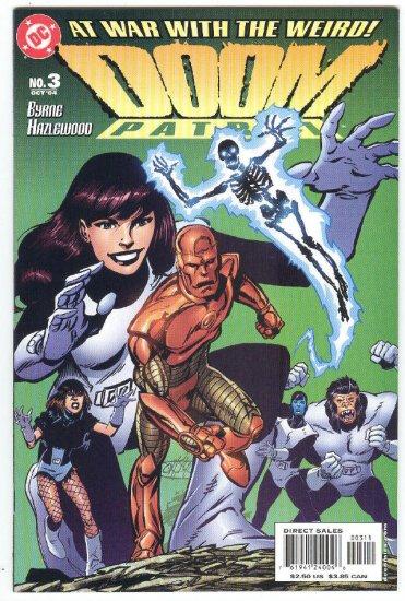 Doom Patrol #3 At War With The Weird Byrne Story & Art 2004
