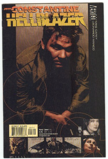 Hellblazer #207 Where The Dead Men Go... Mature Series