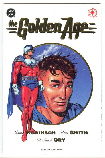 The Golden Age #2 DC Elseworlds Series P Smith Art 1993