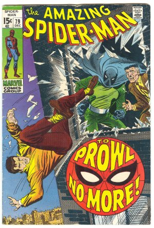 Amazing Spider-Man #79 The Prowler Classic 1969