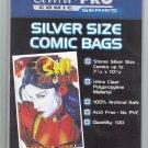 Ultra Pro Silver Age Archival Comic Bags 100 Pk