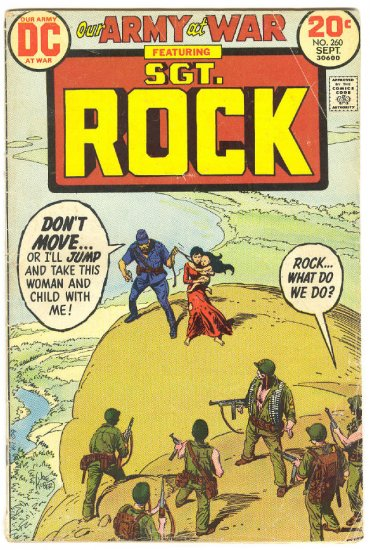 Our Army At War #260 Sgt. Rock 1973