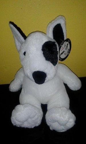 Aurora Max Soft Black And White Puppy Dog Plush