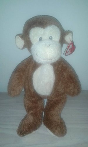 TY Pluffies - DANGLES the Monkey Bean Bag Plush