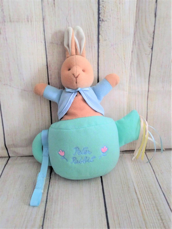 Vintage Eden Peter Rabbit Watering Can Plush Toy