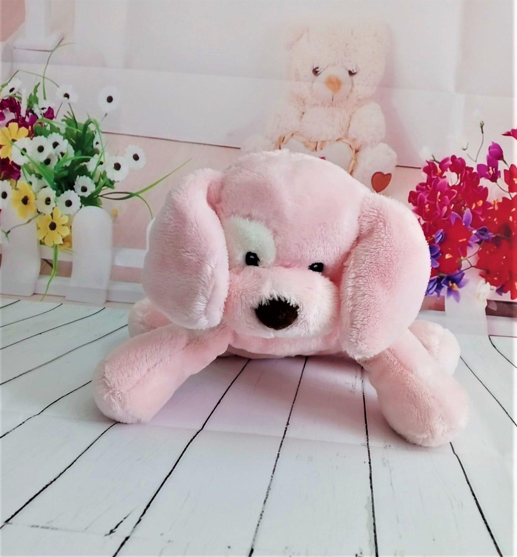 Baby Gund Spunky the Pink Puppy Plush #58373