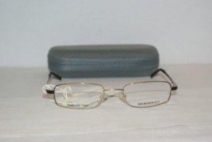 B. New Emporio Armani Gold Eyeglasses: Mod. 9030 & Case