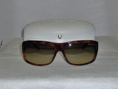 Brand New Diesel Havana Sunglasses: Mod. Pete & Case