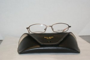 B. New Kate Spade Brown Eyeglasses: Mod Blaine & Case