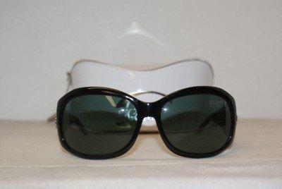 Brand New Just Cavalli Shiny Black Sunglasses: Mod. 203S (01A) 63-16 & Case
