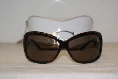Brand New Just Cavalli Dark Tortoise Sunglasses: Mod. 209S (52J) 65-13 & Case