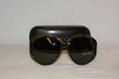 Brand New Gucci Green Sunglasses: Mod. 2927 & Case