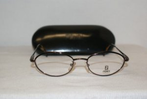 Brand New Fendi Cappucino Eyeglasses: Mod. 78 & Case