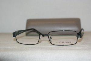 Brand New BCBG Maxazria Blue Ink Eyeglasses: Mod. Enzo 54-17 & Case