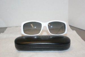 Brand New Ralph Lauren White Sunglasses: Mod 886 & Case