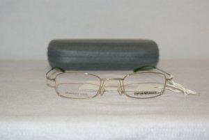 New Emporio Armani Yellow Eyeglasses: 9126 45-21 & Case