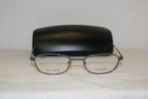Brand New Calvin Klein Grey Eyeglasses: Mod. 525 (098) 48-20 & Case