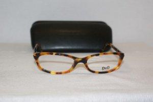 New D & G Dolce & Gabbana Tort. Eyeglasses: 1125 & Case