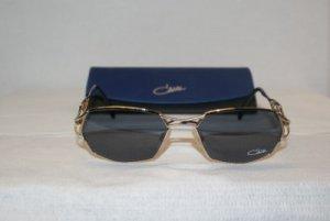Vintage Cazal Blue & Gold Sunglasses: Mod. 290 & Case