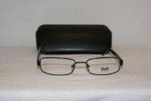 New D&G Dolce & Gabbana Black Eyeglasses: 5048 & Case