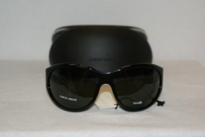 New Giorgio Armani Black Sunglasses: Mod. 208 & Case