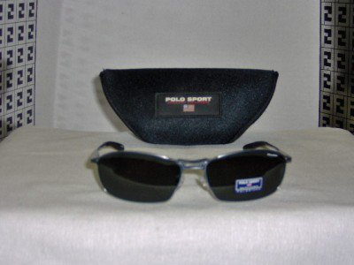 Brand New Polo Sport Satin Grey Sunglasses: Mod. 7722 & Case