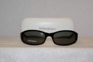 New YSL Yves Saint Laurent Black Sunglasses 6037 & Case