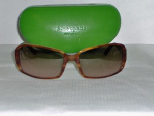 Brand New Kate Spade Brown Sunglasses: Mod. Hazy & Case