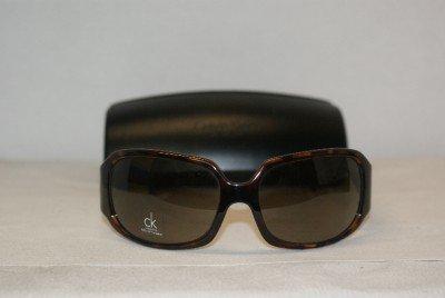 Brand New Calvin Klein Dark Tortoise Sunglasses: Mod. 3071 & Case