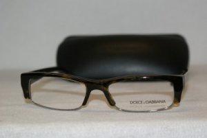 New Dolce & Gabbana Tortoise Eyeglasses: Mod. DG 3099 (502) 54-17 & Case