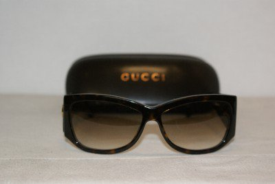 Brand New Gucci Dark Tortoise Sunglasses: Mod. 2953 (086S8) 57-13 & Case