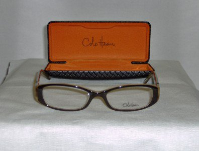 Brand New Cole Haan Brown Eyeglasses: Mod. 902 & Case