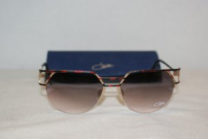 Brand New Cazal Red, Black & Gold Sunglasses: Mod. 248 (408) & Case